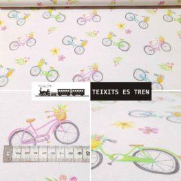 Bicicletas, Bicis, Punto algodón
