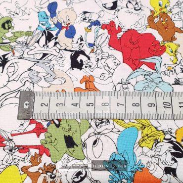 Piolín Looney Tunes algodón 100% licencias ref1398