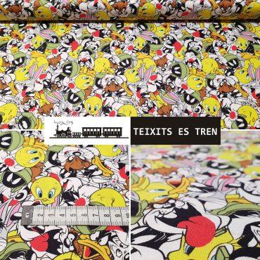 Piolín Looney Tunes algodón 100% licencias ref1399